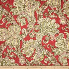 Waverly Grand Gesture Twill Fiesta from @fabricdotcom  Screen printed on cotton twill; this lightweight fabric is very versatile and perfect for window treatments (draperies, valances, curtains and swags), toss pillows, duvet covers, some upholstery and other home decor accents.