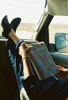 Navigator on the road trip