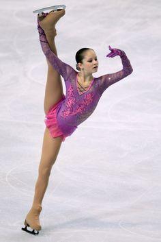 Russian figure skater Julia Lipnitskaia