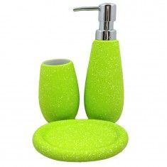 3pcs Bath Set With Advanced Rubber Coating