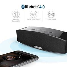 Shower and Home Actionpie Portable Wireless Outdoor Bluetooth Speaker Enhanced Bass Beach Black 5W Drivers Waterproof