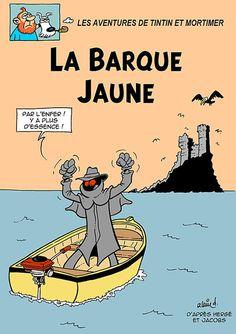 Pastiche 51 - Tintin 11 - Blake et Septimus - Tintin et Mortimer… - Tintin et…: