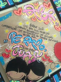 Resultado de imagen para cartas para mi novio de aniversario con letra timoteo Birthday Gifts, Happy Birthday, Watermelon Art, Printable Adult Coloring Pages, Unicorn Crafts, Font Styles, Yule, Birthday Decorations, Doodles
