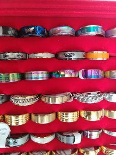 βεράκια ατσάλινα ανοξείδωτα ανδρικά δαχτυλίδια Bangles, Bracelets, Belt, Accessories, Jewelry, Fashion, Belts, Moda, Jewlery