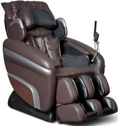 Shop Osaki Brown Executive Zero Gravity S-Track Heating Massage Chair with great price, The Classy Home Furniture has the best selection of Massage chairs to choose from Hip Massage, Good Massage, Massage Chair, Massage Tips, Massage Deals, Shoulder Massage, Built In Speakers, Chairs For Sale, Brown Bags