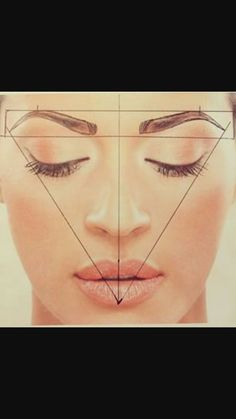 How to shape perfect brows - permanent brows - microblading & powder ombre Eyebrow Makeup Tips, Permanent Makeup Eyebrows, Eyebrow Pencil, Eye Makeup, Eyebrow Products, Beauty Makeup, Perfect Cat Eye, Perfect Brows, Face Proportions