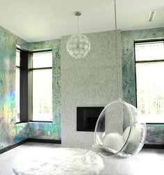 Puf Moderno (fibra Di Vetro E Cemento) CIOTTOLO Il Laboratorio  Dellu0027imperfetto | Color ❉ Iridescent | Pinterest
