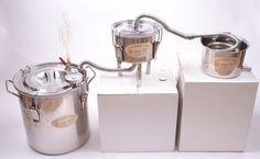 New 3 Pots DIY 8 Gal 30 Litres Alcohol Moonshine Ethanol Still Spirits Stainless Steel Boiler Water Distiller Whiskey Wine Making Kit