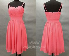 red bridesmaid dresses, short bridesmaid dresses, chiffon bridesmaid dresses, custom bridesmaid dress, cheap bridesmaid dresses, 16387 sold by LoverDresses. Shop more products from LoverDresses on Storenvy, the home of independent small businesses all over the world.