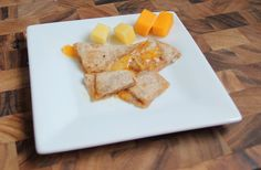 Baby and Toddler Finger Foods. Quesadilla and Cheese Finger Food