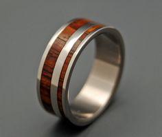 Yes Kez Sirumem Wooden Wedding Rings by MinterandRichterDes