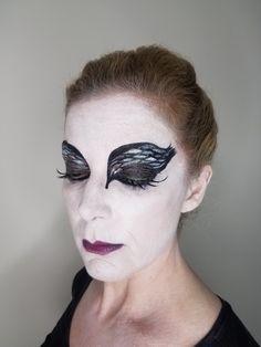 Black Swan makeup application by Katybeth