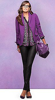 NY's Newest Passion: Purple - Latest Trends - New York & Company