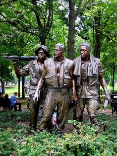 Vietnam Memorial. This just haunts me every time I see it. I want to say to them, well done you stood together. Biddy Craft