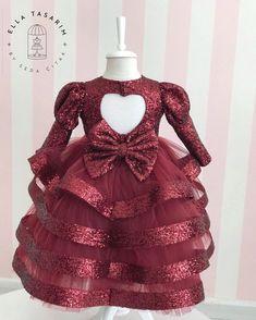 Funky Dresses, Cute Girl Dresses, Little Girl Dresses, Baby Pageant Dresses, Kids Party Wear Dresses, Baby Dress Design, Baby Girl Dress Patterns, Kids Blouse Designs, Kids Frocks Design