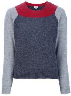 KENZO - colour block jumper 1