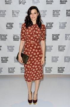 Rachel Weisz wore Spring 2013 Bottega Veneta at the Deep Blue Sea screening in New York.