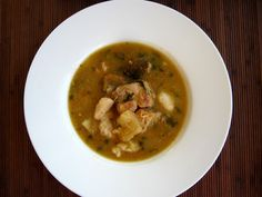 The Inner Gourmet: Dad's Sunday Afternoon (Guyanese) Chicken Soup