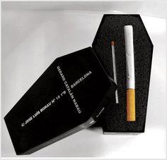 Así queda el fumador...