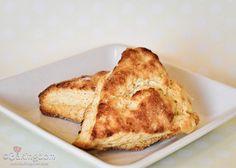 i love all things lemon - lemon cream scones