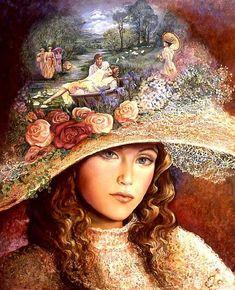 """Grandmother's Hat"" par Josephine Wall"
