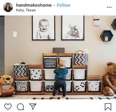 An Ikea kids' room remains to intrigue the children, because they are offered much more than just children's s Ikea Trofast Storage, Kids Playroom Storage, Ikea Playroom, Ikea Kids Room, Kids Room Organization, Trofast Hack, Ikea Nursery, Bedroom Storage, Kids Bedroom