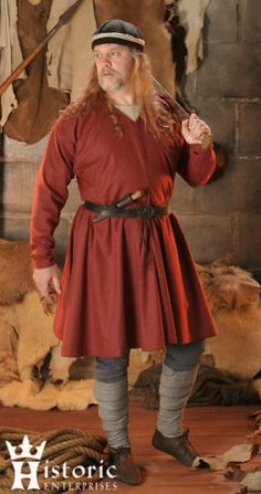Outfit, Viking, Complete, Linen (for men)