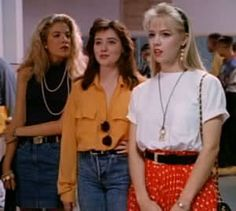 Beverly Hills, 90210. I grew up watching this...even though I was like in first grade I use to watch this teen show. LOL.
