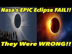 Nasa's EPIC Eclipse FAIL!! (They Were WRONG) | FLAT EARTH PROOF 29 pt2 - YouTube
