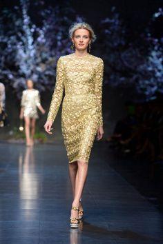 Dolce & Gabbana Milan Fashion Week S/S 2013 Show