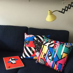 Season of Victory x Neon Talk Pillows to spice up any room....