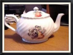 Arthur Wood and Son Teapot Model 6362 by lovevintagehouseware, $39.95 vintage dinnerware English pottery Staffordshire