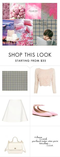 """a dream is a wish"" by koreanclothes ❤ liked on Polyvore featuring Crate and Barrel, Coast, Neil Barrett, Gianvito Rossi, Dolce&Gabbana, bts and taehyung"