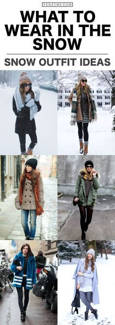Cold whether outfits | winter outfits ideas | What To Wear In The Snow | 40 Warm Snow Outfit Ideas