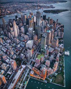 Lower Manhattan, New York Manhattan New York, Lower Manhattan, Photographie New York, New York City, Ville New York, City Aesthetic, City Photography, Amazing Photography, World Trade Center