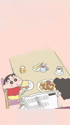 굠 Sinchan Cartoon, Doraemon Cartoon, Cartoon Shows, Sinchan Wallpaper, Iphone Background Wallpaper, Kawaii Wallpaper, Crayon Shin Chan, Classic Cartoon Characters, Cute Characters