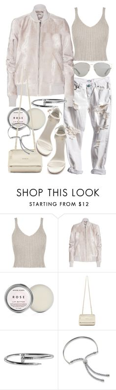 """""""Untitled #20173"""" by florencia95 ❤ liked on Polyvore featuring WearAll, Rick Owens, Herbivore, Stuart Weitzman, Givenchy, Monica Vinader and Christian Dior"""