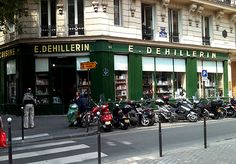 Some cookware and department stores in Paris - with links