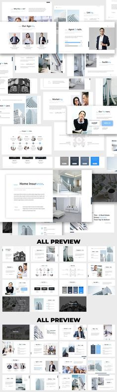 Real Estate PowerPoint Presentation Template is a Professional housing, real estate, apartment complex, and home staging presentation template professional looking color, come with flat design, clean, minimalist, modern presentation, fit for creative industry such as fashion, website agency, photography industry, model and other industry. Created to make your business presentation stand out, pain-free and professional look. Don't spend time, just... Apartment Complexes, Construction Design, Business Presentation, Powerpoint Presentation Templates, Creative Industries, Home Staging, Flat Design, Minimalist, Real Estate