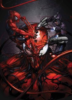 Superior Carnage #5 by Clayton Crain