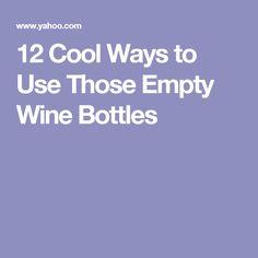 7 Easy DIY Ideas For Reusing Empty Bottles | Empty Bottles, Empty And Reuse