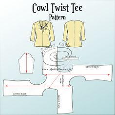 Inspired by #IsseyMiyake and Julie of #JetSetSewing, this pattern's a keeper! #PatternPuzzle