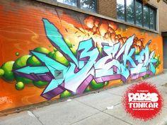 [Paris Tonkar magazine] #graffiti #streetart #urban #lifestyle: Montréal Zoo #3
