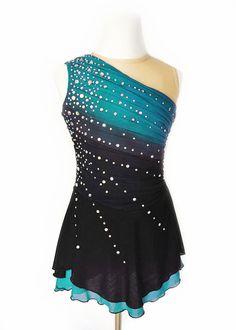 Custom Figure Skating Dress by RichelleJonesDesigns on Etsy More