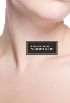 In search of a neck without sagging? We're here to help you succeed that! Make your #Ultherapy appointment today! #SayNoToSagging #BodyLase