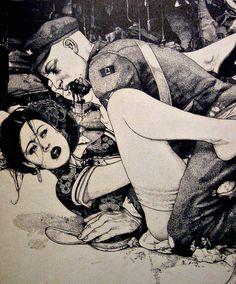 Zombie Comic Scene... Alrighty Then!!! :-D
