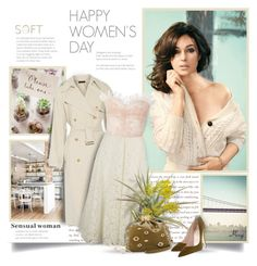"""Happy Women's Day!"" by thewondersoffashion ❤ liked on Polyvore featuring KOJA, The Row, Valentino, Rodarte, Inés Figaredo, Olivine and ANTONINI"