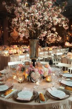 WedLuxe – A Cherry Blossom-Filled, Spring Wedding | Photography by ...