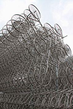grid/matrix. Ai Wei Wei uses the bike as the module for his matrix