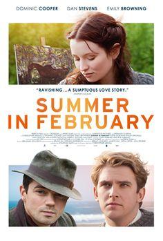 Summer in February Movie with Dan Stevens